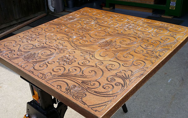 фрезеровка деревянных столешниц